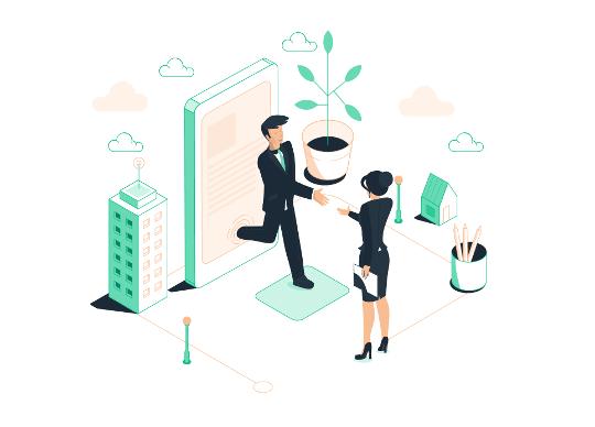 logiciel recrutement - Illustration marque employeur